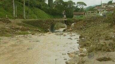 Chuva causa estragos na zona rural de Virgínia - Chuva causa estragos na zona rural de Virgínia