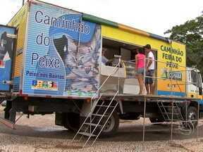 Opção barata para trocar a carne vermelha pelo peixe esta semana - Foram distribuídos pela capital, 36 postos de venda de pescado de tanque. A ação faz parte do projeto Peixe Santo.