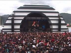 Rock in Rio terá mais atrações no palco Sunset - Cinquenta e quatro artistas vão se apresentar em 28 encontros. A banda inglesa Bullet for My Vallentine, Sebastian Bach, o ex-vocalista da banda Skid Row, e Rob Zombie são convidados especiais. Entre os brasileiros estão Nando Reis e Maria Rita.