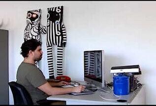 Designer multimídia de Uberlândia, MG, alcança sucesso em várias partes do mundo - O que era uma diversão, se tornou profissão para Tércio Mota, que hoje tem clientes espalhados por todo o mundo.
