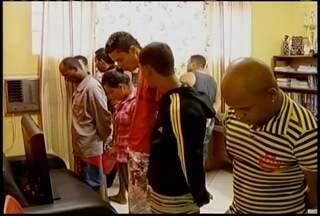 Oito pessoas são presas em Bocaiuva supeitos de tráfico de drogas - Operação foi desencadeada pela Polícia Civil.