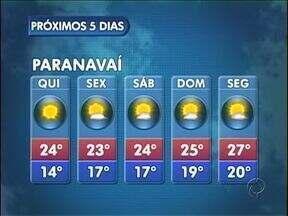 Previsão de temperaturas mais baixas nos próximos dias - Uma massa de ar frio chega à região nesta quinta-feira (28).