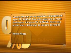 Auditor fiscal tira dúvidas sobre declaração de Imposto de Renda - As perguntas são respondidas pelo auditor fiscal Adílson Galvão.