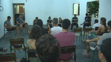 Novos atores do Grupo Imaginário participam do projeto Tapiri na Cena, em Porto Velho - Projeto apresenta a leitura dramatizada de obras consagradas.