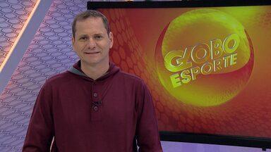 Bob Faria apresenta os destaques do Globo Esporte MG desta sexta-feira - Programa mostra o encontro de uma família boa de bola. E, ainda, as notícias de Cruzeiro e Villa Nova, que se enfrentam neste sábado