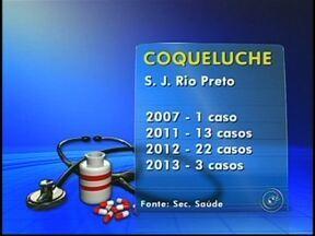 Saúde em alerta sobe os casos de coqueluche em Rio Preto, SP - Uma doença que estava sob controle, voltou a apresentar aumento no número de casos no estado de São Paulo e inspira cuidados, é a coqueluche. Se tem criança em casa, não deixe de conferir a carteirinha de vacinação.