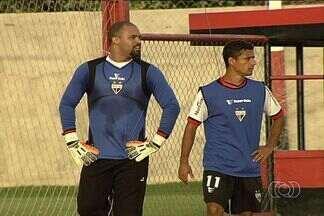 Com desfalques, Atlético-GO treina para mais um jogo - Dragão enfrentará o Rio Verde, segunda, no Serra Dourada. Márcio, Robston e Paulo Henrique estão fora.