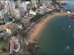 Imagens mostram os contrastes e desafios para o crescimento de Salvador - A equipe de reportagem da TV Bahia sobrevoou a primeira capital do Brasil para mostrar a cidade, no dia do aniversário de 464 anos.