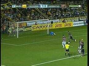 No Heriberto Hülse, Criciúma goleia Juventus por 8 a 0 - Avaí venceu o Guarani de Palhoça, na Ressacada.