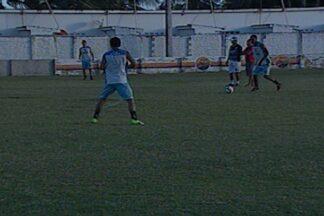 CSP treina com bola para o jogo contra o Atletico-PB - CSP vai enfrentar o Atlético pela quarta rodada do Paraibano