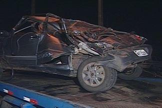 Vice-prefeito da cidade de Salgadinho, Sertão da PB, capota o carro perto de CG - Irmã do vice-prefeito morreu no local.