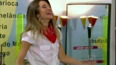 Malhação - capítulo de sexta-feira, 05/04/2013, na íntegra - Fatinha e Pilha conquistam papéis principais no filme de Orelha e Morg