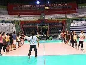 Osasco e Rio de Janeiro decidem a Superliga Feminina de Vôlei em São Paulo - Ginásio do Ibirapuera, palco da decisão já está pronto.