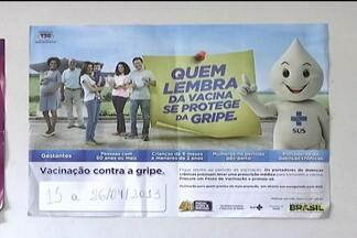 Ministério da Saúde realiza campanha de vacinação contra a gripe - O Ministério da Saúde realiza, em todo o país, mais uma campanha de vacinação contra a gripe no próximo dia 15. Equipes de saúde do município de Aldeias Altas se preparam para receber a dose da vacina.