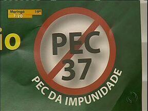 Emenda constitucional pode dificultar ações de combate à corrupção - A chamada PEC 37 retira de vários órgãos a prerrogativa de fazer investigações.