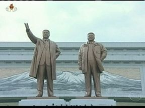 Aniversário de Kim Il-Sung é motivo de alerta na Península Coreana - Nesta segunda (15), a Coreia do Norte celebra os 101 anos de nascimento de Kim Il-Sung, fundador da dinastia que controla o país e avô de Kim Jong-Un. A data pode representar um perigo para os países vizinhos.