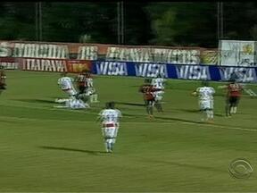 Confira os gols da Copa do Brasil - Veranópolis perdeu por 2 a 0 do Santo André, e o Atlético-PR venceu de 2 a 0 do Brasil-Pel.
