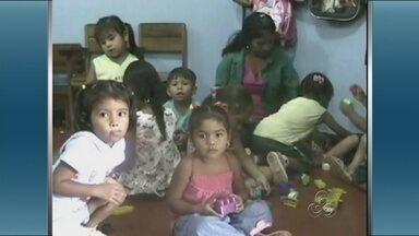 Quantidade de creches é insuficiente em Itacoatiara - A cidade de Itacoatiara possui apenas quatro creches, insuficente para demanda no município.