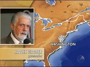 Jaques Wagner fala sobre prêmio internacional recebido pelo Hospital do Subúrbio - O prêmio foi concedido pelo Banco Mundial e entregue ao governador em Washington, nos Estados Unidos.