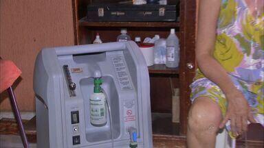 Pessoas que usam aparelhos médicos devem se cadastrar para evitar corte de energia - Coelce cadastra clientes e evita cortes de energia de pessoas que sobrevivem com ajuda de aparelho.