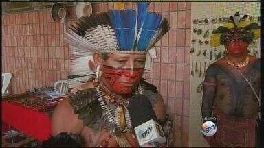 No Dia do Índio, tribo de Pernambuco visita Rio Claro, SP - No Dia do Índio, tribo de Pernambuco visita Rio Claro, SP.