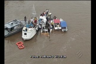 Embarcação naufraga na ilha do Marajó e deixa mortos - Naufrágio ocorreu durante a madrugada desta sexta-feira, 19.