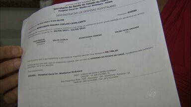 Hospital público no Ceará revela ao paciente gastos com cada atendimento - Objetivo é ser transparente com gastos.