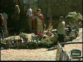 Católicos de Apucarana comemoram o dia de Santo Expedito - A cidade tem até um parque dedicado ao santo.