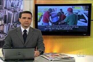 Confira os destaques do Bom Dia Goiás - Os três detentos amotinados na enfermaria do Complexo Prisional de Aparecida de Goiânia, na Região Metropolitana da capital, se entregaram no início da manhã de domingo (21).