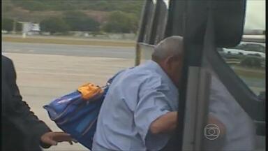 Recifense que cumpria pena no México é deportado para o Brasil - Ele estava cumprindo pena desde 2003 no México, por tentar entrar no país com dois quilos e meio de heroína. O restante da pena será cumprido em Pernambuco.