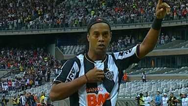 Atlético-MG vence de virada no Mineirão - Jogo deste domingo (21) coloca o time em melhor situação, após duas derrotas seguidas.