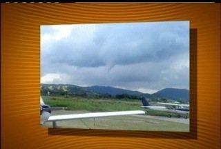 Telespectador envia fotos de formação de ciclone em Maricá - Telespectador envia fotos de formação de ciclone em Maricá