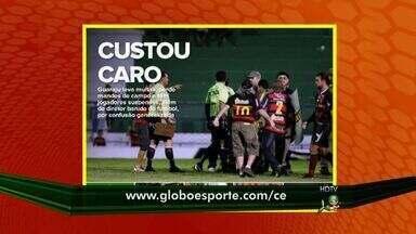 Guarani de Juazeiro é punido pelo TJDF-CE - Guaraju tem dirigente banido do futebol, jogadores suspensos e mandos de campo perdido.