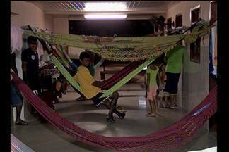 Protesto de índios em Belém chega ao quarto dia - Eles pedem melhorias no atendimento nas casas de saúde indígenas.