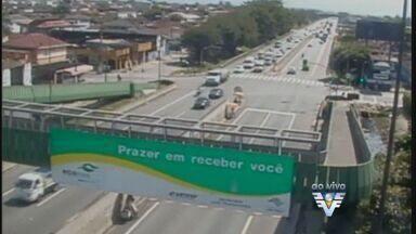 Tráfego continua tranquilo nas estradas no início da tarde desta quinta-feira - Não há registros de congestionamento