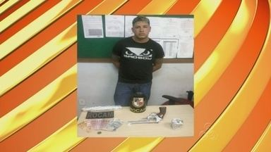 Suspeitos de tráfico de drogas são presos em Manaus - Uma das prisões ocorreu na bairro Riacho Doce