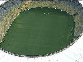 Maracanã será reaberto no Rio de Janeiro neste sábado (27) - Na reinauguração do Maracanã, com o jogo entre os Amigos de Ronaldo e os Amigos de Bebeto, o estádio estará em observação. O teste definitivo será em junho, com o amistoso entre Brasil e Inglaterra.