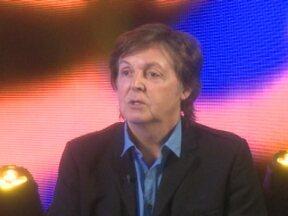 Paul McCartney diz que ama música brasileira apesar de não entender - Canal F traz trechos inéditos da entrevista do ex-beatle ao Fantástico.