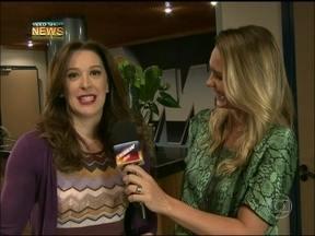 Vídeo Show News: Claudia Raia recorda Donatela, de A Favorita - A atriz também comentou sobre a vilã Lívia Marini, de Salve Jorge
