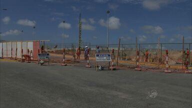 Ministro cobra rapidez nas obras do Aeroporto de Fortaleza - Obra tem apenas 12% do andamento.