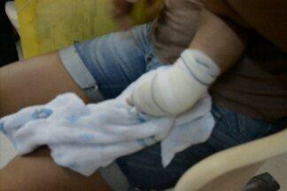 Mulher e criança ficaram feridas depois de um tiroteio no Bairro das Indústrias, em JP - Elas estão internadas no Hospital de Trauma, mas o estado de saúde delas ainda não foi divulgado.