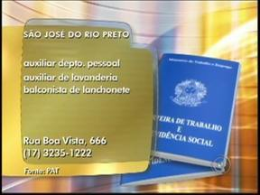 Confira as vagas de emprego divulgadas pelo Bom Dia Cidade na região de Rio Preto - Para quem está em busca de ingressar no mercado de trabalho, confira as oportunidades oferecidas por diversas empresas da região noroeste paulista, divulgadas pelo Bom Dia Cidade desta sexta-feira (3).