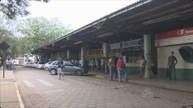 Responsabilidade da rodoviária de Porto Velho é motivo de impasse entre estado eprefeitura - O município quer que o estado assuma a responsabilidade pelo terminal de ônibus.