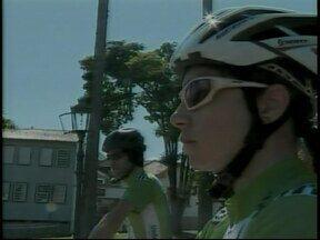 Competidores fazem volta de reconhecimento do circuito da Copa de Mountain Bike - Evento é neste fim de semana em São João Del Rei