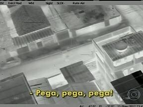Fantástico investiga operação polêmica da polícia no Rio - No meio da noite, um helicóptero da polícia perseguiu um dos traficantes mais procurados da cidade.