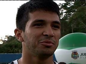 Zagueiro Luan diz estar preparado para substituir Dedé - Jogador completou 20 anos e será titular no amistoso contra o Tupi, em Juíz de Fora.