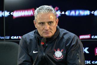 Tite confirma afastamento de Jorge Henrique do elenco do Corinthians - Técnico confirmou Danilo na armação do time na final.