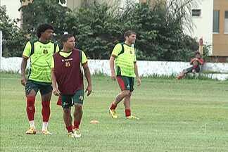 Sampaio finaliza preparação para o clássico com o MAC - Tricolor precisa da vitória para terminar a fase de classificação na liderança do Campeonato Maranhense