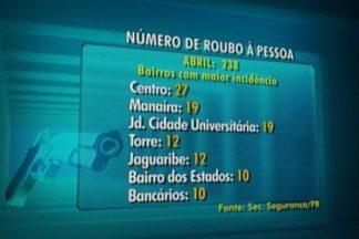 Centro de João Pessoa é o lugar com maior número de roubos a pessoas - JPB alerta população para se previnir durante as compras do dia das mães no centro de João Pessoa.