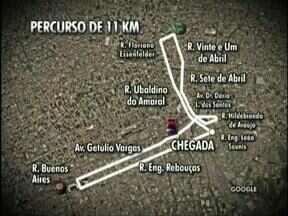Percurso da Corrida Stadium passa pelo Durival Britto, Joaquim Américo e Couto Pereira - Cerca de 1.700 corredores vão participar de prova que liga os três principais estádios de Curitiba